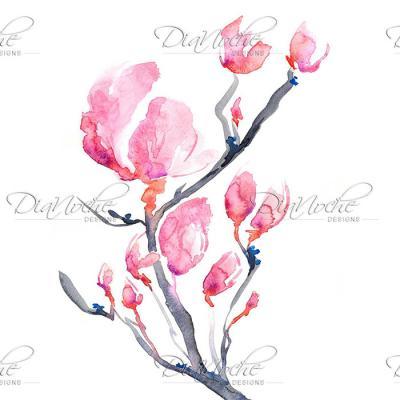 DiaNoche Designs Artist | Brazen Design Studio - Japanese Magnolia