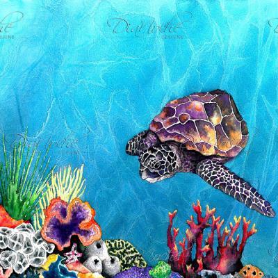 DiaNoche Designs Artist | Brazen Design Studio - Sea Turtle