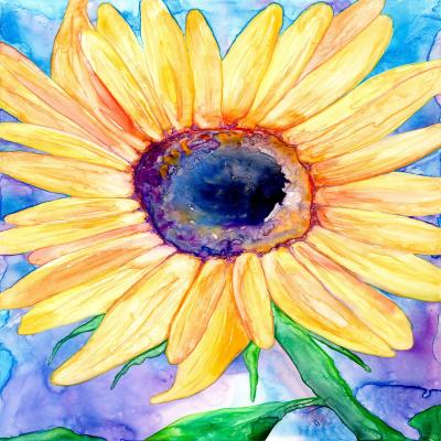 DiaNoche Designs Artist | Brazen Design Studio - Sunflower