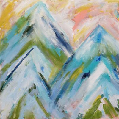 DiaNoche Designs Artist | Carrie Schmitt - Colorado Bluebird Sky