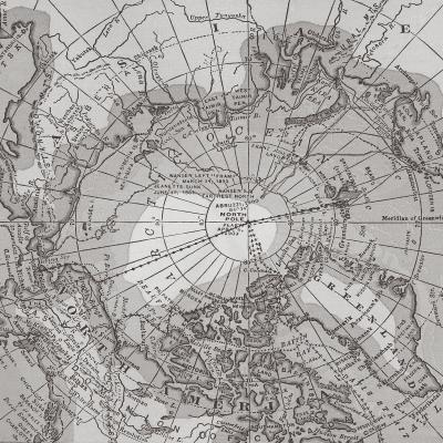 DiaNoche Designs Artist | Catherine Holcombe - Arctic Light Map