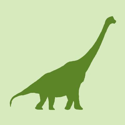 DiaNoche Designs Artist | Catherine Holcombe - Dinosaur I Green