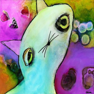 DiaNoche Designs Artist | China Carnella - Baby Gato
