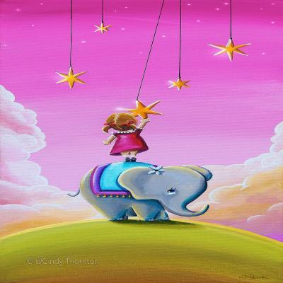 DiaNoche Designs Artist | Cindy Thornton - Elephant Stars