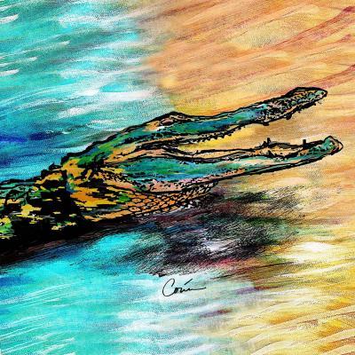 DiaNoche Designs Artist | Corina Bakke - Alligator