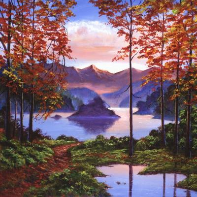 DiaNoche Designs Artist | David Lloyd Glover - Autumn Perfectly Still