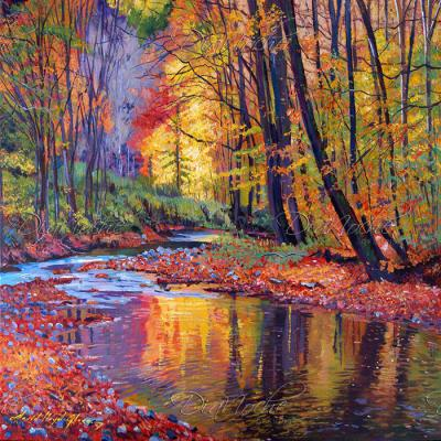 DiaNoche Designs Artist | David Lloyd Glover - Autumn Prelude