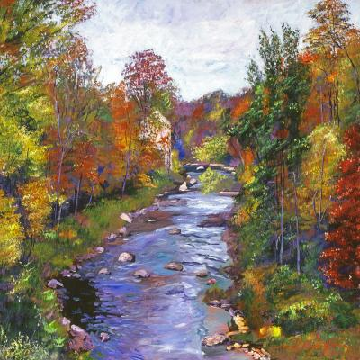 DiaNoche Designs Artist | David Lloyd Glover - Autumn River