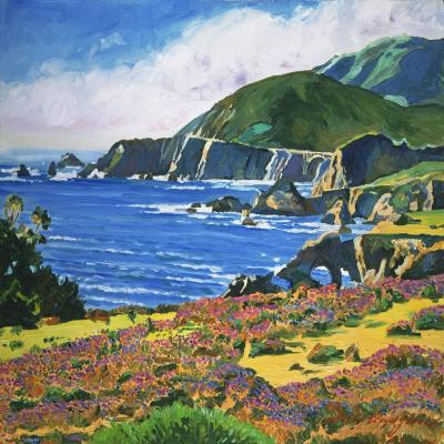 DiaNoche Designs Artist | David Lloyd Glover - Big Sur 2