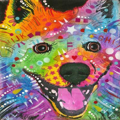 DiaNoche Designs Artist | Dean Russo - American Eskimo Dog 1