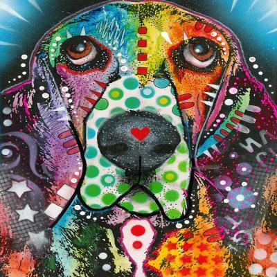 DiaNoche Designs Artist | Dean Russo - Basset Hound Dog 31