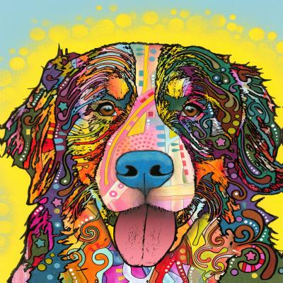 DiaNoche Designs Artist | Dean Russo - Bernese Mountain Dog