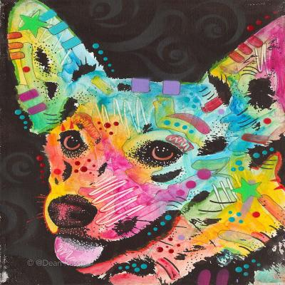 DiaNoche Designs Artist | Dean Russo - Collie Dog 4