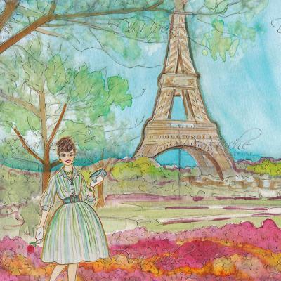 DiaNoche Designs Artist | Diana Evans - Vintage Paris