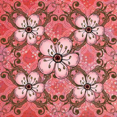 DiaNoche Designs Artist | Diana Evans - Pretty in Pink 2