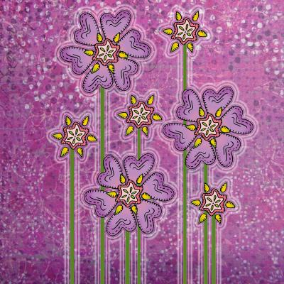 DiaNoche Designs Artist | Diana Evans - Purple Floral