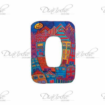 DiaNoche Designs Artist | Dora Ficher - Alphabet Letter O