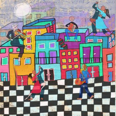 DiaNoche Designs Artist   Dora Ficher - Bailando el Tango