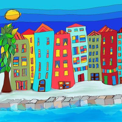 DiaNoche Designs Artist   Dora Ficher - Condo Peace
