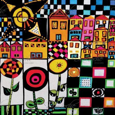 DiaNoche Designs Artist   Dora Ficher - Doodle Day