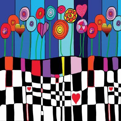 DiaNoche Designs Artist   Dora Ficher - Happiness