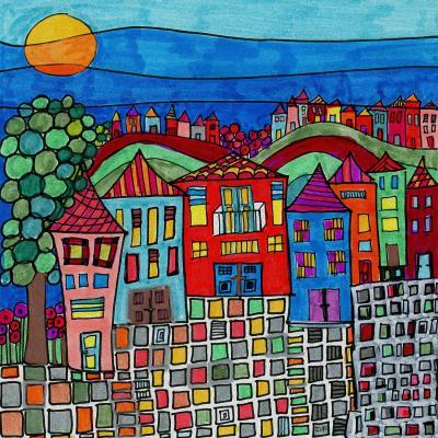 DiaNoche Designs Artist | Dora Ficher - Mexico Town