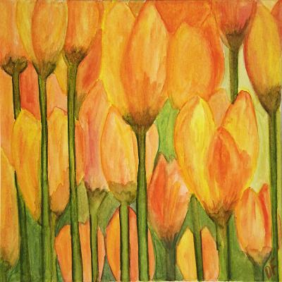 DiaNoche Designs Artist | Dora Ficher - Tulips