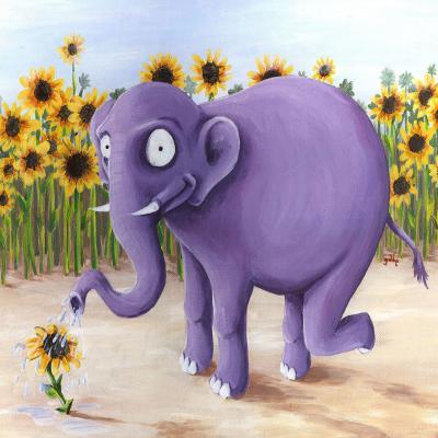 DiaNoche Designs Artist | Gabriel Cunnett - Growth Spurt Elephant