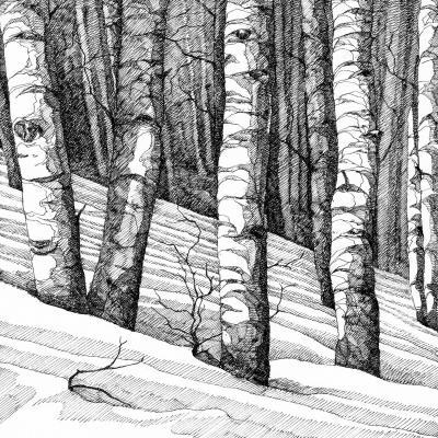 DiaNoche Designs Artist | Gerry Segismundo - Dont Snowboard Here