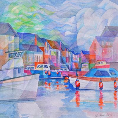 DiaNoche Designs Artist | Gerry Segismundo - Harbor Somewhere