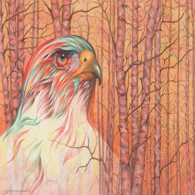 DiaNoche Designs Artist | Gerry Segismundo - Raptor All Psyched Up