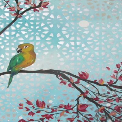 DiaNoche Designs Artist | Hillary Doggart-Greer - Sun Amongst the Blossoms