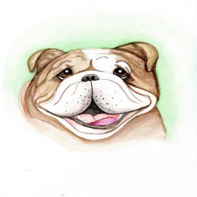 DiaNoche Designs Artist | Hillary Doggart-Greer - Bulldog