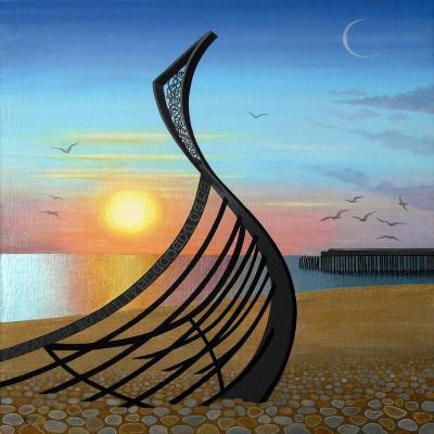 DiaNoche Designs Artist | Jennifer Baird - Boat Sculpture
