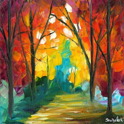DiaNoche Designs Artist | Jessilyn Park - Autumn Solitude