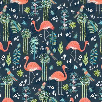 DiaNoche Designs Artist | Jill O Connor - Painted Flamingos
