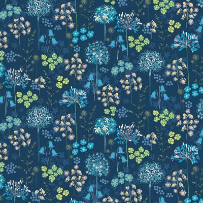 DiaNoche Designs Artist | Jill O Connor - Poppies Agapanthus