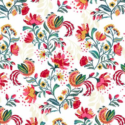 DiaNoche Designs Artist | Jill O Connor - Scandinavian Festiv Floral