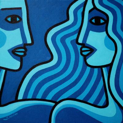 DiaNoche Designs Artist | John Nolan - Blue Lovers