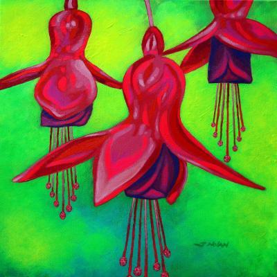 DiaNoche Designs Artist | John Nolan - Fuchsia Trio
