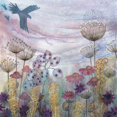 DiaNoche Designs Artist | Judith Figuiere - Birds Seedheads