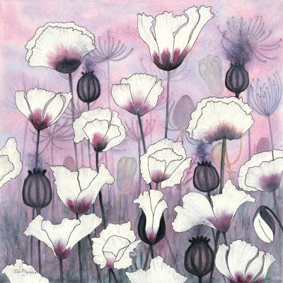 DiaNoche Designs Artist | Judith Figuiere - Field White Poppies