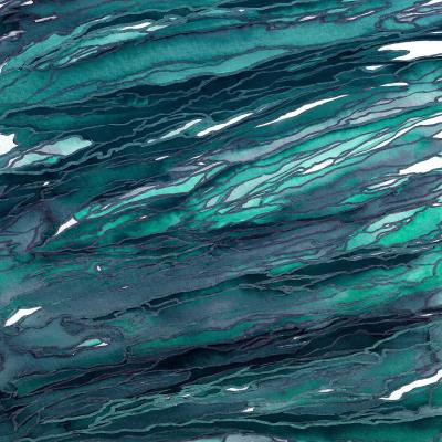 DiaNoche Designs Artist | Julia Di Sano - Agate Magic Dark Teal
