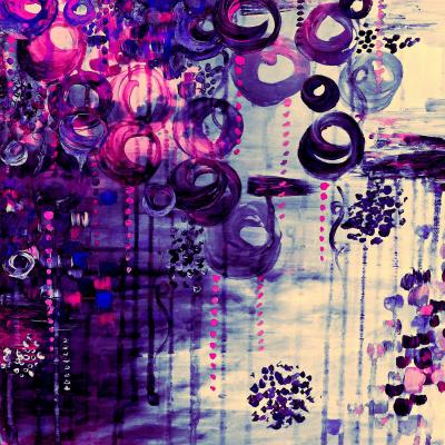 DiaNoche Designs Artist | Julia Di Sano - Atomic Purple Dreams