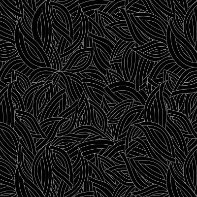 DiaNoche Designs Artist | Julia Grifol - Black Leaves