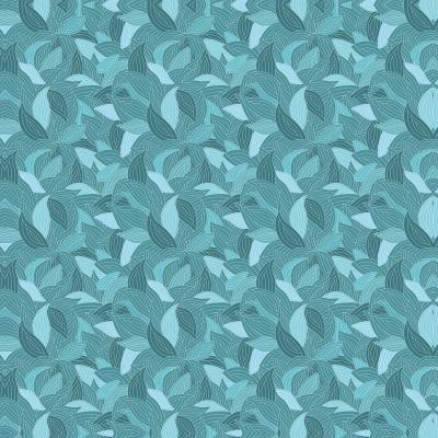 DiaNoche Designs Artist | Julia Grifol - Blue Leaves
