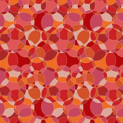 DiaNoche Designs Artist   Julia Grifol - Bubbles Red