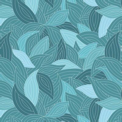 DiaNoche Designs Artist | Julia Grifol - Blue Leaves II
