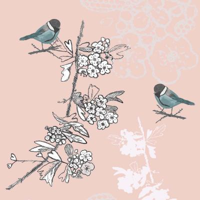 DiaNoche Designs Artist | Julie Ansbro - Blue TIT Bird
