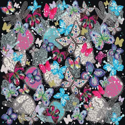 DiaNoche Designs Artist | Julie Ansbro - Butterflies Black